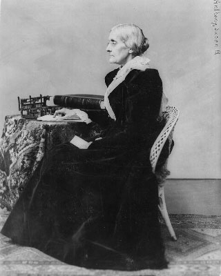 susan b anthony quotes. Susan B. Anthony
