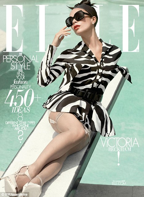 Victoria Beckham graces Elle magazine cover. 6 09 2009