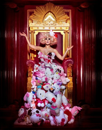 Hello Kitty Dress Lady Gaga. hello-kitty-lady-gaga-plush-