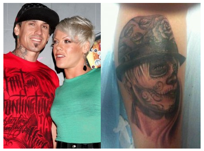 And to commemorate the return Cary Hart has gone and gotten a tattoo of P!nk