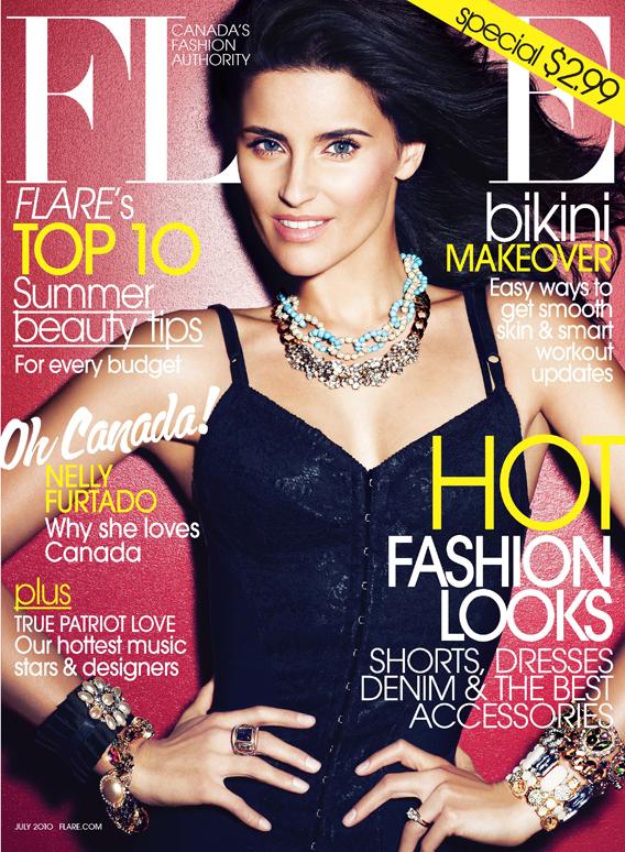 Nelly Furtado - Elle Magazine