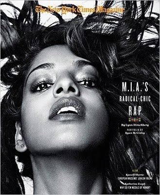 new york times magazine covers. M.I.A. covers The New York