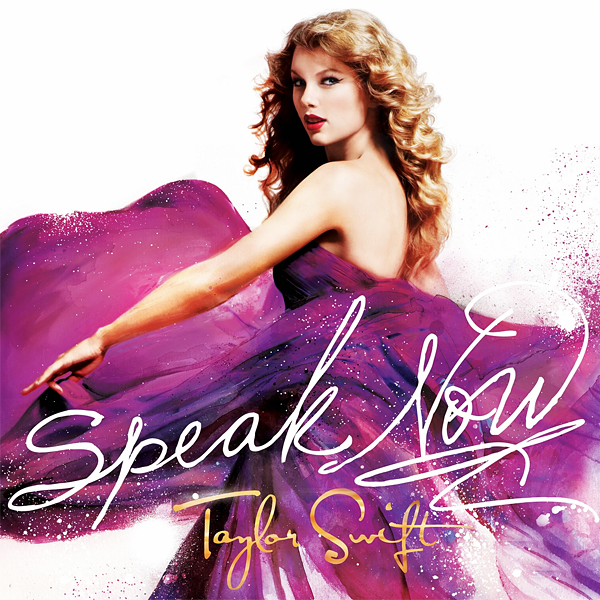 taylor swift cd cover speak now. Official cover for Taylor