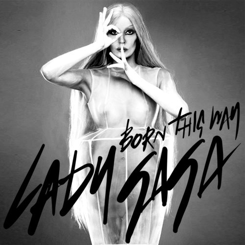 "Lady Gaga's alleged official album cover for ""Born This Way"". 18 02 2011"