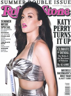 Katy Perry Covers Rolling Stone
