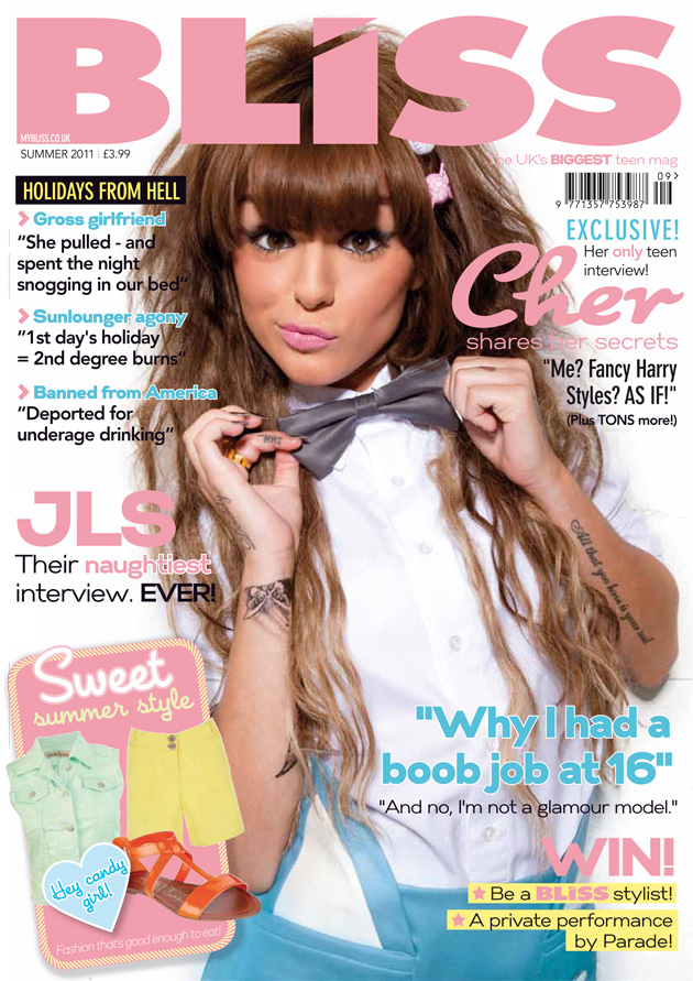 Kayla's AS Media Blog: Magazines Directed at a Teenage Female ...