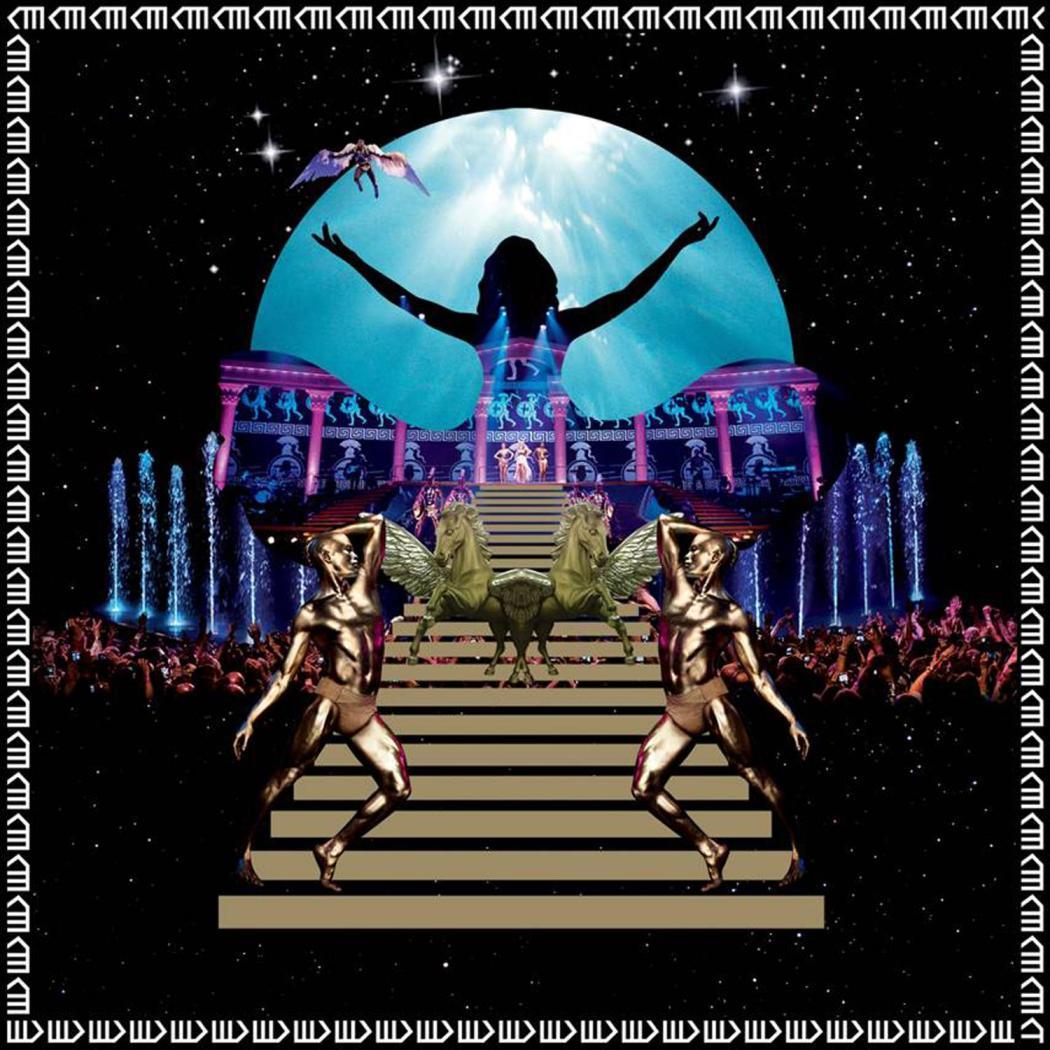 Aphrodite: Les Folies Tour dvd