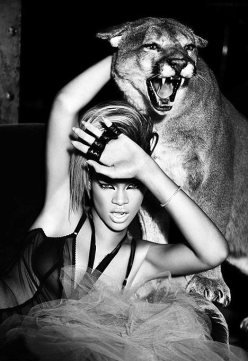 rihanna art tiger new