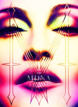 madonna tur book mdna new