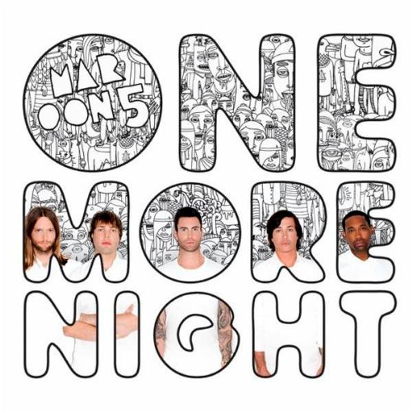 maroon 5 one more night cover artwork