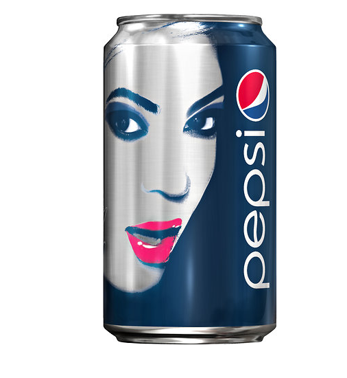 beyonce pepsi cola can limited edition