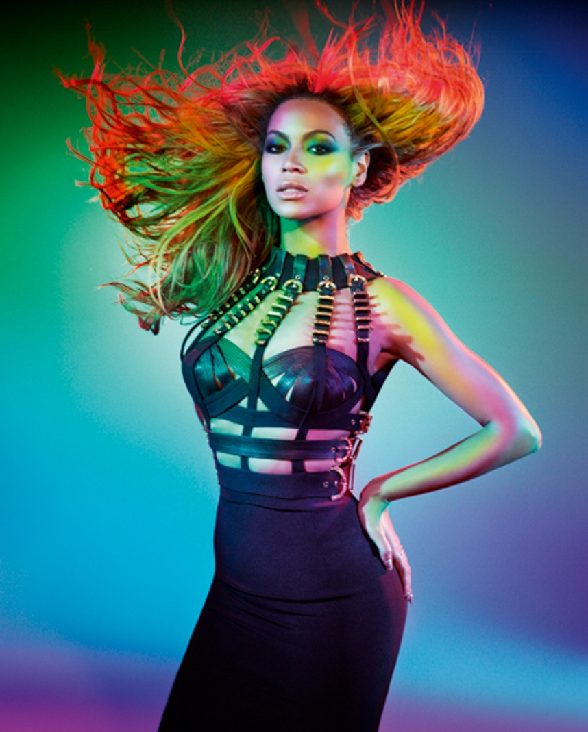 beyonce rainbow fierce