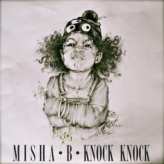 knock misha b cover
