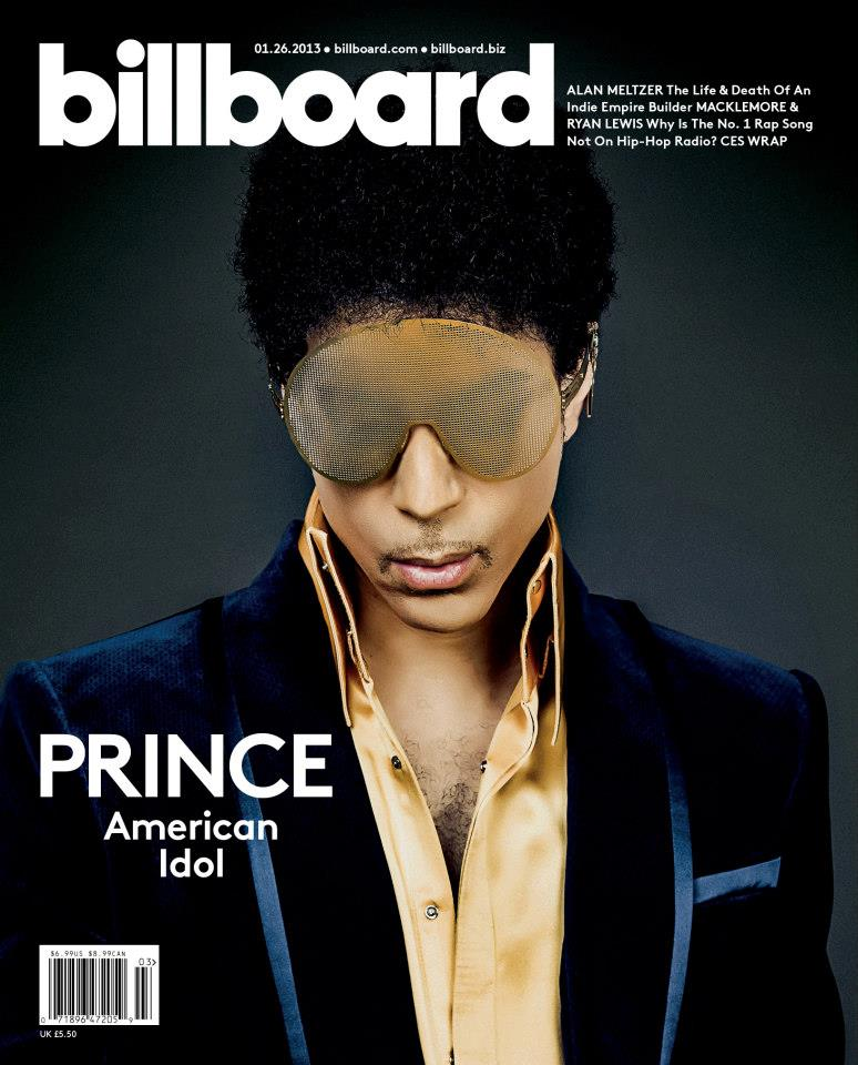 billboard magazine 2013 prince