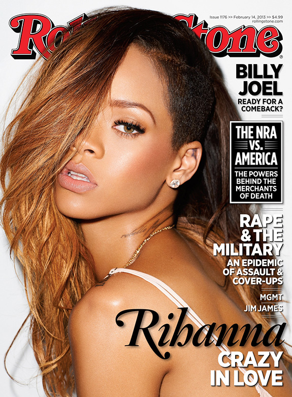 Cover Shoot Rihanna  Rolling Stone