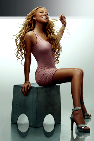 Mariah-Carey-Photo-Shot-iPhone-Wallpaper-Download