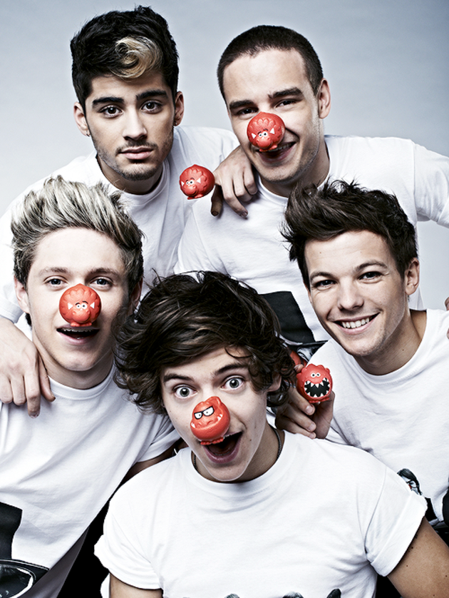 One Direction Red Nose 1