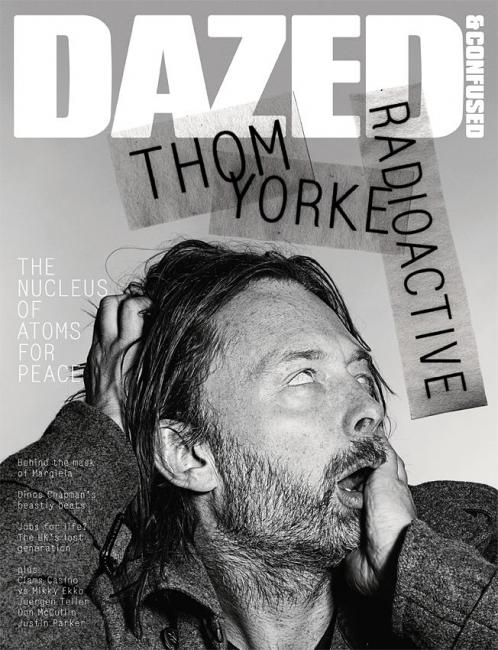 Thom York of Radiohead covers Dazed & Confused magazine