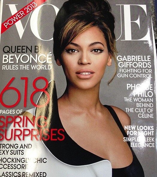 beyonce vogue magazine new s2013 cover