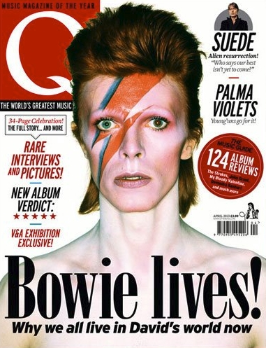 david bowie magazine cover q magazine