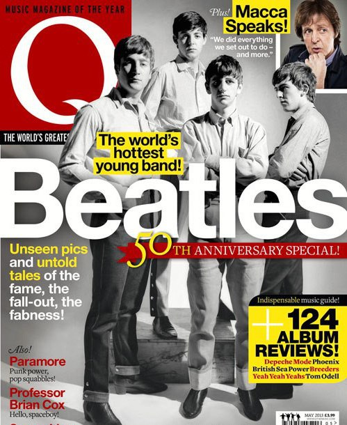 beatles best magazine cover