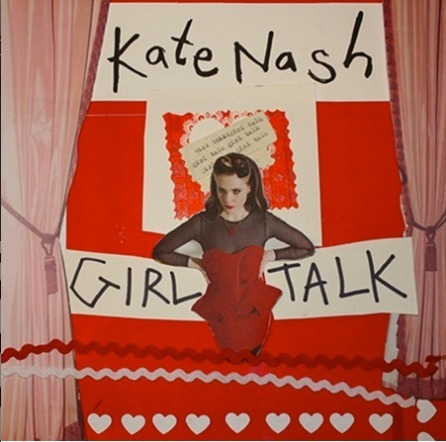 kate+nash+album+cover+girl+talk