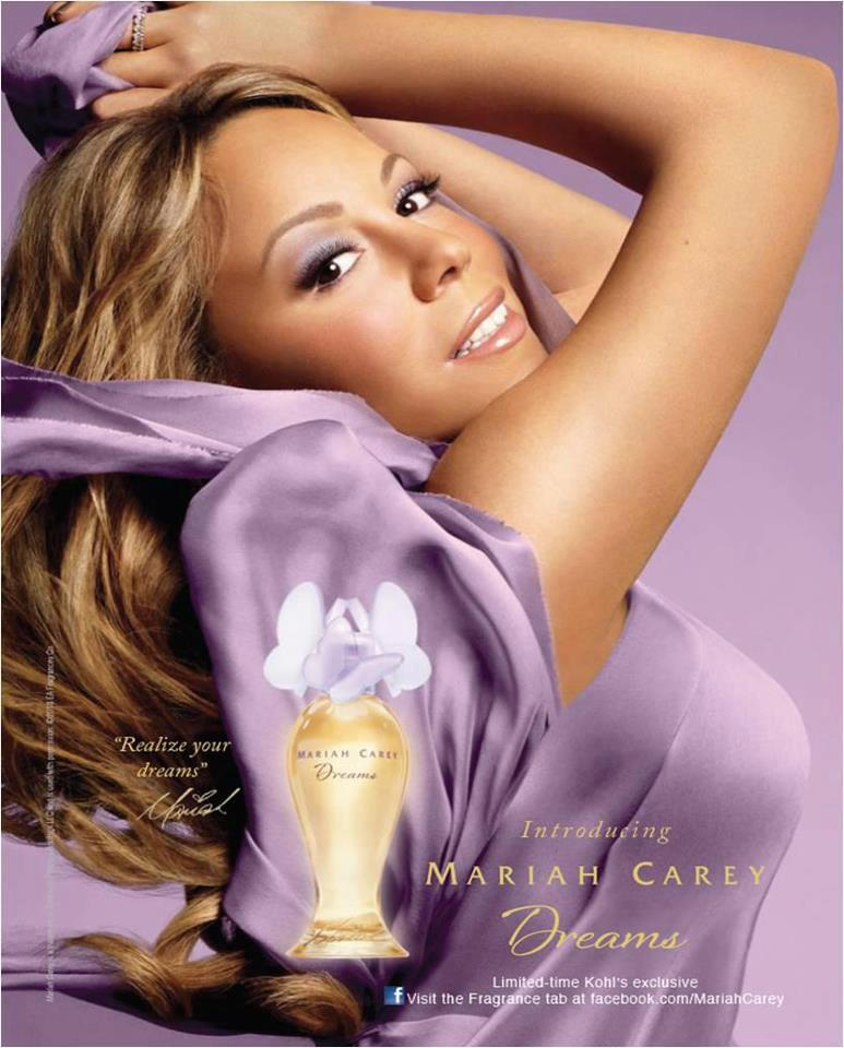 mariah carey dreams perfume new purple