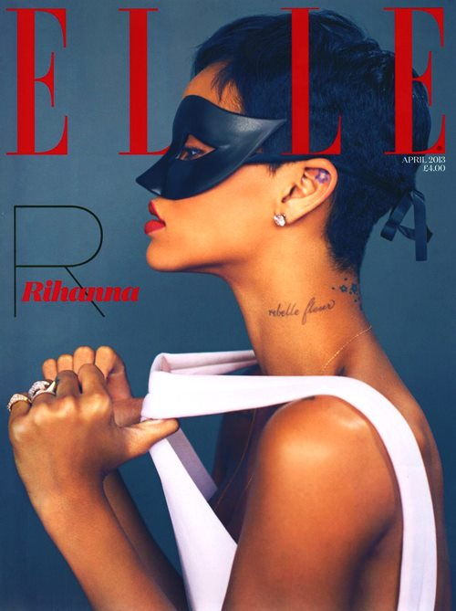 rihanna covers elle magazine 2013