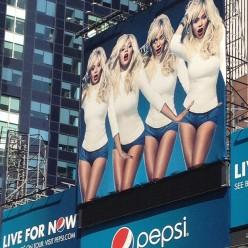 beyonce billboard pepsi