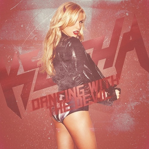 dancing with the devil kesha new single cover