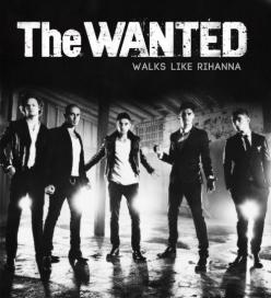 The Wanted Walks like rihanna
