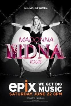 madonna poster mdna tour